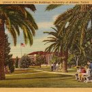 Liberal Arts and Humanities Buildings, University of Arizona Tucson AZ, 1943 Linen Postcard - 3490