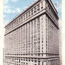 Continental and Commercial Bank Building in Chicago Illinois IL, 1923 Vintage Postcard - 3587