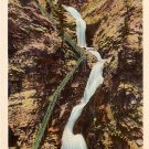 Seven Falls in Cheyenne Canon near Colorado Springs CO, Vintage Postcard - 3589