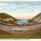 Horse Shoe Curve on Main Line of Pennsylvania Railroad Near Altoona PA Vintage Postcard - 3591