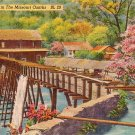 A Typical Mill in the Missouri Ozarks, Mid Century Linen Postcard - 3598