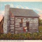 Jim Lane's Cabin in Branson Missouri MO, Curt Teich Vintage Postcard - 3601