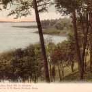 Saratoga Lake with Snak Hill in Distance New York NY Vintage Postcard - 3703