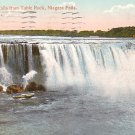 Horseshoe Falls from Table Rock Niagara Falls New York 1911 Vintage Postcard - 3714