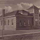 Abner Baker School in Fort Morgan Colorado CO 1919 Vintage Postcard - 3723