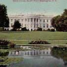 White House South Front in Washington DC Vintage Postcard - 3778