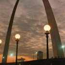 Gateway Arch, Jefferson National Expansion Memorial in St. Louis Missouri MO Postcard - 3824