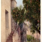The Old Stairway of San Gabriel Mission California CA, Detroit Publishing Vintage Postcard - 3898