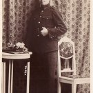 Young Man in Uniform, Real Photo Post Card RPPC  - 3899