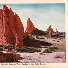 Interior View, Garden of the Gods, Colorado CO Vintage Postcard - 3924