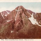 Mount of the Holy Cross in Colorado CO Vintage Postcard - 3926