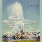 Buckingham Fountain in Grant Park, Chicago Illinois IL 1946 Linen Postcard - 0019