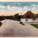 Bridge Across Longfellow Glen, Minneapolis Minnesota MN Vintage Postcard - 0023