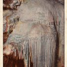 Frozen Niagara in Mammoth Cave National Park, Kentucky KY 1931 Curt Teich Linen Postcard - 0028