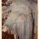 Frozen Niagara in Mammoth Cave National Park, Kentucky KY 1931 Curt Teich Linen Postcard - 0028