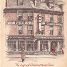 The Original Historical Oyster House in Boston Massachusetts MA 1949 Postcard - 0038