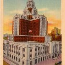 New United States Custom House in Philadelphia, Pennsylvania PA  Linen Postcard - 0074
