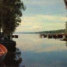 The Finger Lakes in Central New York, Chrome Postcard - 0108