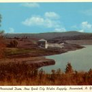 Neversink Dam in New York NY, 1954 Curt Teich Chrome Postcard - 0115