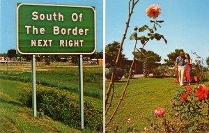 South of the Border Interstate 95 Tourist Facility in South Carolina SC Chrome Postcard - 0130