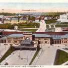Union Station in Provicence Rhode Island RI 1925 Vintage Postcard - 0136