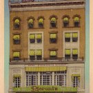 Hotel Pieroni Famous Sea Food Grill in Boston Massachusetts MA Linen Postcard - 0139
