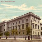United States Mint Building in Philadelphia, Pennsylvania PA Vintage Postcard - 0212