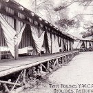 YWCA Conference Grounds Tent Houses in Asilomar California Vintage Postcard - 0240