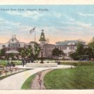 Cathedral School in Orlando Florida FL Vintage Postcard - 0293