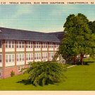 Trinkle Building of the Blue Ridge Sanatorium in Charlottesville Virginia VA Linen Postcard - 0356