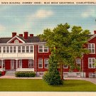 Davis Building at Blue Ridge Sanatorium in Charlottesville Virginia VA Linen Postcard - 0413