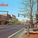 Main Street in Nashua New Hampshire NH Chrome Postcard - 0550