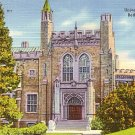 University Library in Bethlehem Pennsylvania Linen Postcard - 0574