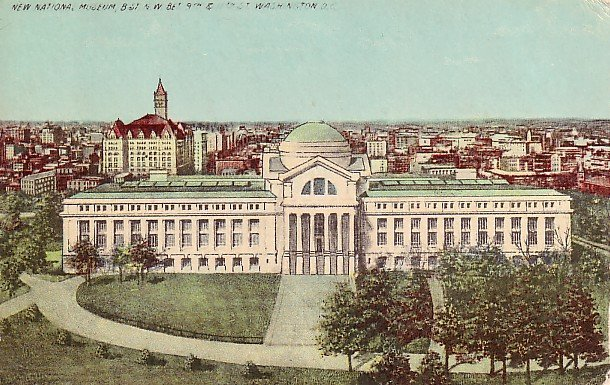 New National Museum in Washington DC Vintage Postcard - 0608