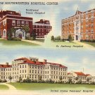 Southwestern Hospital Center in Amarillo Texas TX Curt Teich Linen Postcard - 0662