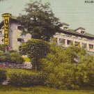 Hillside Hotel in Madison Indiana IN 1944 Curt Teich Linen Indiana Postcard - 0689