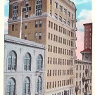 San Jose Commercial Building in California CA Vintage Postcard - 0748