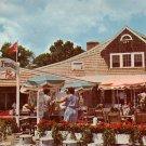 Barnacle Billys Restaurant at Perkins Cove in Ogunquit  Maine ME Chrome Postcard - 854