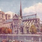 Raphael Tuck & Sons, Notre Dame in Paris France Vintage Postcard - 0899
