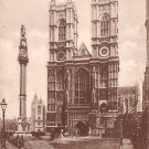 Raphael Tuck & Sons View of Westminser Abbey in London England  - 1041