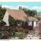 An Early Cape Cod House in Massachusetts Vintage Postcard - 1077