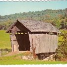 Small Covered Bridge in St. Johnsbury Vermont VT Chrome Postcard - 1220