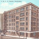 YMCA Building in Seattle Washington WA Vintage Postcard - 1258
