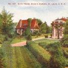 Gate House in Shaw's Garden at St. Louis Missouri MO Vintage Postcard - 1261