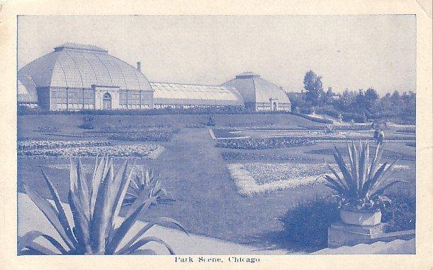 Greenhouses in Chicago IL Illinois Postcard - 1459