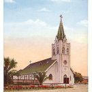 St Marys Church in Santa Maria California CA Vintage Postcard - 1546