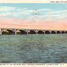 Arch Bridge at Weir Ashokan Reservoir in the Catskill Mountains New York NY  Postcard - 1584