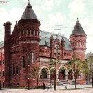 Art Museum in Detroit Michigan MI 1908 Vintage Postcard - 1753