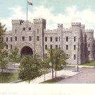 Arsenal in Springfield Illinois IL Curt Teich Vintage Postcard - 1801