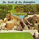 The Grotto of the Redemption at West Bend Iowa IA Postcard - 1941